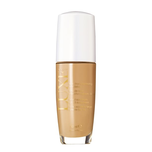 Купить Тональный крем для лица с омолаживающим действием Люкс - Натуральный/Nude, Avon