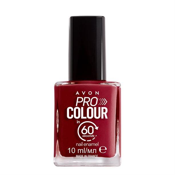 Купить Быстросохнущий лак для ногтей Pro Цвет за 60 секунд - Розовая невесомость/Think Fast Pink, Avon