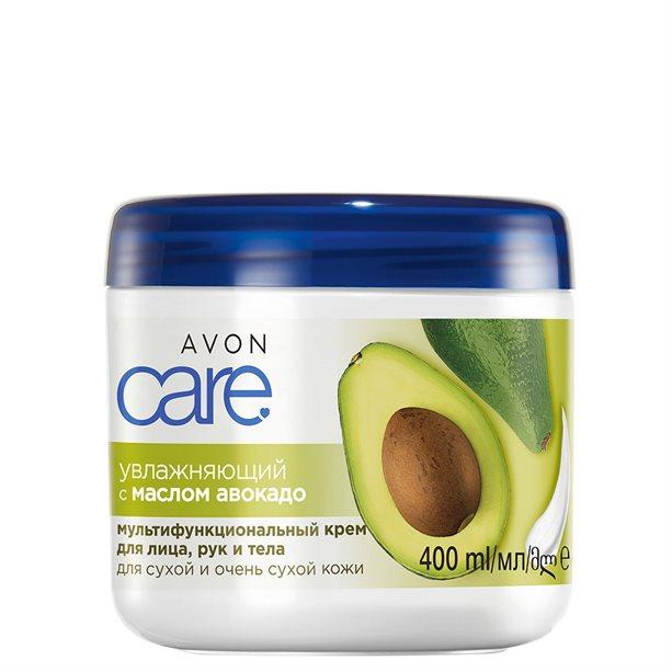 Купить Увлажняющий мультифункциональный крем для лица, рук и тела с маслом авокадо, 400 мл, Avon