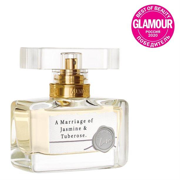 Купить Парфюмерная вода A Marriage of Jasmine & Tuberose для нее, 30 мл, Avon