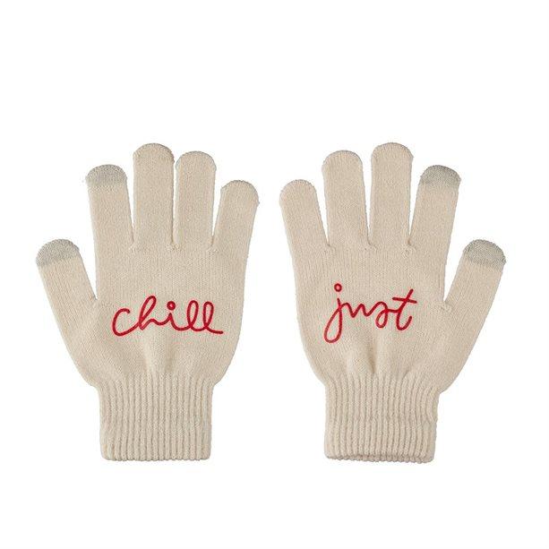 Перчатки - Женские. Обхват ладони: 19 см. Красные