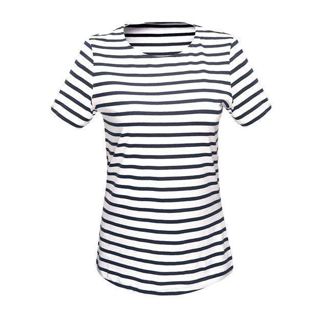 Купить Женская футболка - Размер 50-52, в полоску, Avon