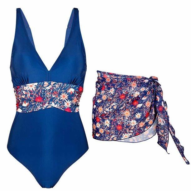 Купить Комплект женской одежды: купальник, парео - Размер 50-52, Avon