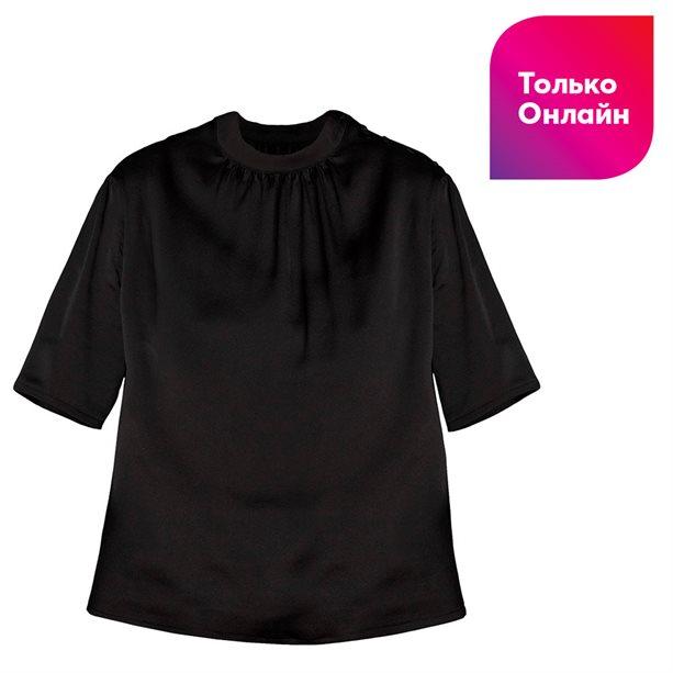 Купить Женская блузка в японском стиле - Размер 50, черная, Avon