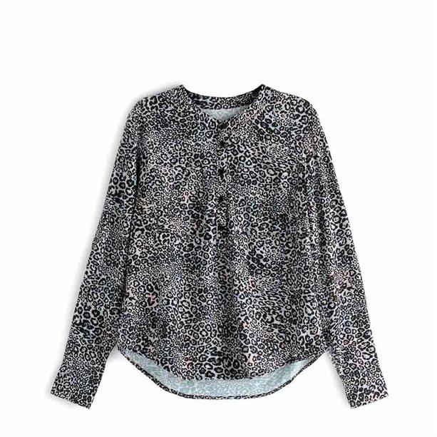 Купить Женская блузка - Размер 50-52, леопардовый принт, Avon