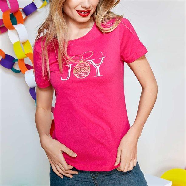 Женская футболка - Размер 46-48, черная